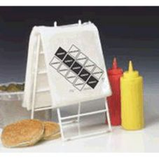 Coated Wire Saddle Pack Dispensing Holder, For PB/D100