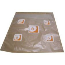 Pak-Sher 5710 Large Portion Control Bag With Orange 6 - 2000 / CS