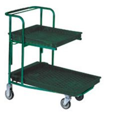 "Win-Holt® PNC1HD/PU/RS 22-1/2"" x 37-1/2"" Stocking Cart"