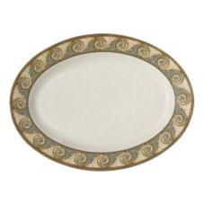 """G.E.T. OP-618-MO Mosaic™ 18 x 13.5"""" Oval Melamine Platter"""