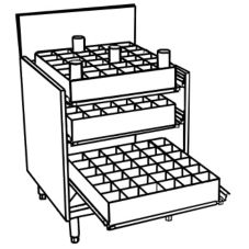 Perlick® 7055-77 Glass Rack Tray