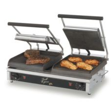 Star® Mfg. Grill Express™ 20 in Iron Grooved / Smooth Grill