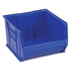 "Metro® MB30283B Super Erecta® Blue 20"" x 18-3/8"" Stacking Bin"