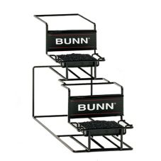 BUNN® 35728 Universal Airpot Rack for 1 Upper and 1 Lower Airpot