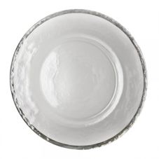 "Ten Strawberry Street Alpine Silver 13"" Charger Plate"