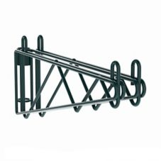 "Metro 2WS24K3 Super Erecta® Post Mount 24"" Coated Shelf Supports"