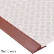 "NoTrax® 439-635 60"" x 1-3/4"" Red Mat Ramp"