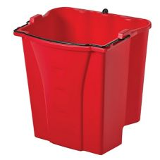 Rubbermaid WaveBrake® Red 18 Qt Dirty Water Bucket