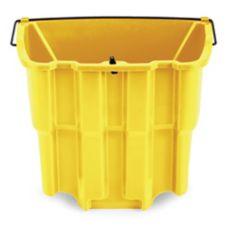 Rubbermaid® FG9C7400YEL WaveBrake® 18 Qt Dirty Water Bucket