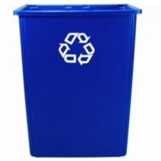 Rubbermaid® FG256B73BLUE Glutton® 56 Gal Recycling Container