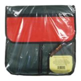 Carry Hot 20 x 20 x 6 Red / Green / White 2 Pizza Carrier