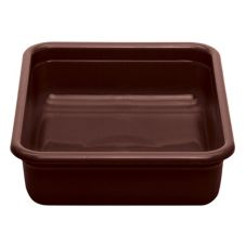"Cambro® 1722CBR131 Dark Brown Regal Cambox® 17"" x 22""  Bus Box"