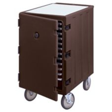 Cambro 1826LTC131 Dark Brown 1-Section Tray / Sheet Pan Camcarts®
