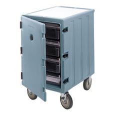Cambro® 1826LBC401 Slate Blue 1-Section Food Box Camcarts®