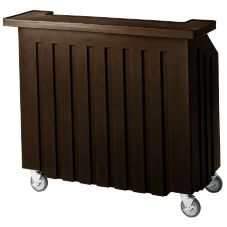 Cambro® BAR540131 Dark Brown Small Standard Style Cambar®