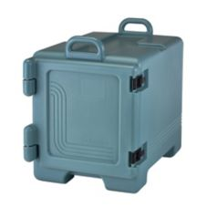 Cambro 300MPC401 Slate Blue Front Loader 36 Qt. Food Pan Camcarrier