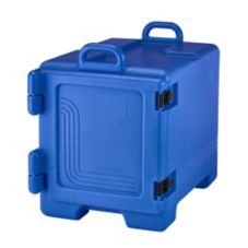 Cambro 300MPC186 Navy Blue 36 Qt. Full Size Food Pan Camcarrier®
