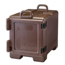Cambro 300MPC131 Dark Brown Full Size 36 Qt Food Pan Camcarrier®