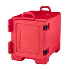 Cambro 300MPC158 Hot Red Front Loader 36 Qt. Food Pan Camcarriers®