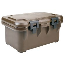 Cambro UPCS180131 Dark Brown S-Series Ultra Pan Carrier for Deep Pans