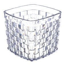 Carlisle® 35607 3 Qt. Clear Square Basket Server