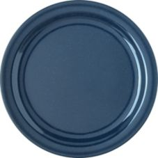 "Carlisle® Dallas Ware® 10-1/4"" Cafe Blue Dinner Plate"
