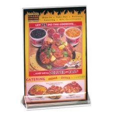 "Cal-Mil® 4.5"" x 6.5"" Menu and Card Holder"