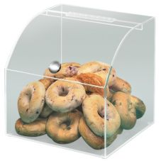 Cal-Mil® 945 Curved Top Opening Clear Bread Bin