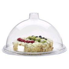 "Cal-Mil 311-9 Clear 9"" Gourmet Cover"