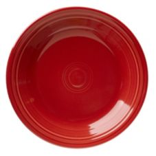"Homer Laughlin  466326 Fiesta® Scarlet 10-1/2"" Plate - 12 / CS"
