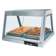 Hatco GRHD-2P Glo-Ray® Single Shelf 2-Pan Heated Display Case