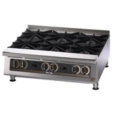 "Star® 806HA Ultra-Max® 36"" Wide Gas Hot Plate"