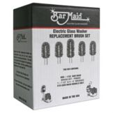 Bar Maid Replacement Brush Set for All Bar Maid Glass Washers