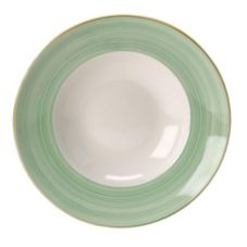 "Steelite 15290365 Rio Green 11-3/4"" Nouveau Bowl - 6 / CS"