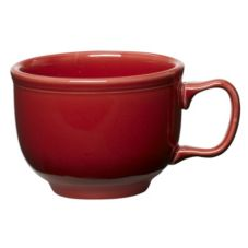 Homer Laughlin China 149326 Fiesta® Scarlet 18 Oz. Cup - Dozen