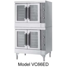 Vulcan Hart VC66EC S/S Elec. Double Deck Bakery Depth Convection Oven