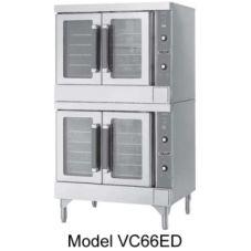 Vulcan Hart VC66EC S/S Elec. Double Deck Bakery Depth Convection Oven
