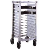 New Age Industrial NS590A Counter Height Mobile 13-Pan Pizza Pan Rack
