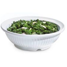 G.E.T.® B-795-W Geneva™ 3 Qt White Melamine Bowl