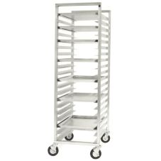 CresCor® 207-1820-SD Full Height Open Sides Mobile Utility Rack
