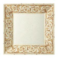 "G.E.T.® ML-90-OL Olympia™ 12"" Square Melamine Plate"