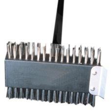 """American Metalcraft 1423 30"""" Broiler Brush w/ S/S Scraper"""