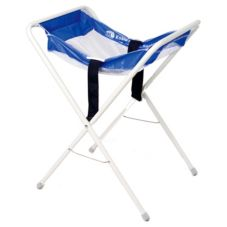 Koala Kare White / Blue Infant Seat Kradle