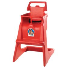 Koala Kare KB103-03 Red Classic High Chair with Recessed Wheel