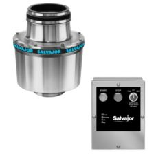 Salvajor 75-SA-3-MRSS Disposer with Sink Assembly / MRSS Control