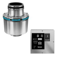 Salvajor 75-SA-3-ARSS-LD Disposer with Sink Assembly / Auto Reverse