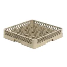 Vollrath TR8 Traex® Beige 16 Compartment Glass Rack (Base Only)