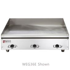 "Wolf Range WEG72E Countertop 72 x 24"" Electric Griddle"