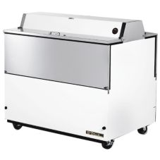 True® Dual Sided White Vinyl and S/S 20.9 Cu Ft Milk Cooler