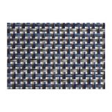"FOH XPM077DBV83 16"" x 12"" Basketweave Placemat - 12 / CS"